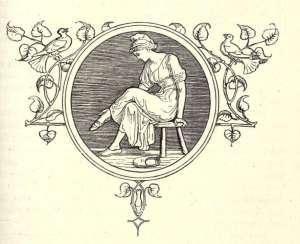 Cinderella aka Aschenputtel and her slipper