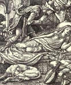Famous scene from Sleeping Beauty