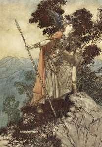 Brynhildr was brave