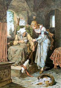 Dornroschen by Alexander Zick (1845-1907)