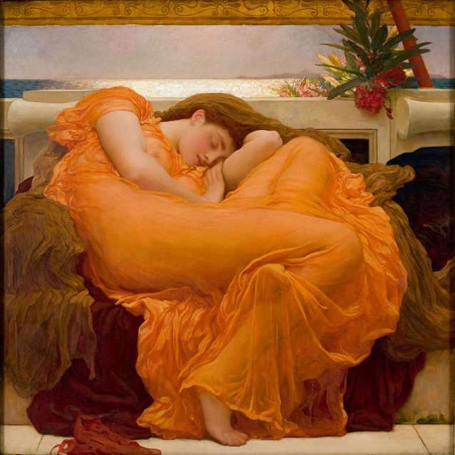lord-frederic-leighton-flaming-june