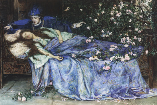 Sleeping Beauty in Pictures | Top Illustrations by Top Artists