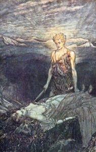 Siegfried finds Brunnhilde