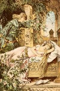 Sleeping Beauty by Paul Meyerheim (1842-1915)