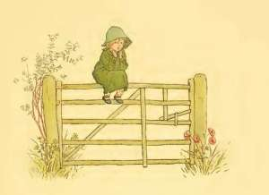 Kate Greenaway - A day in a child's life