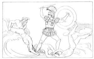 Achilles contending