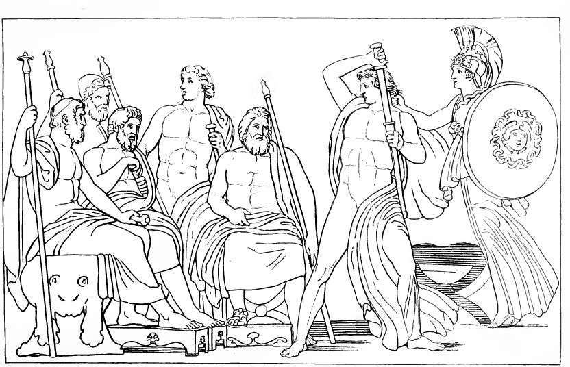 Homer And Hesiod Coloring Page