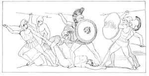 Fight over Patroclus body