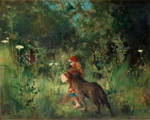 carl-larsson-little-red-riding-hood