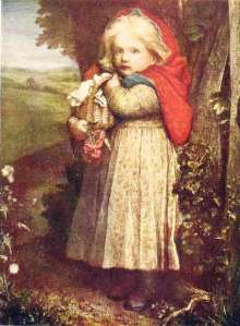 george-frederic-watts-red-riding-hood