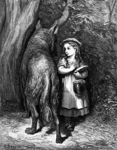 gustave-dore-red-cap-meets-wolf