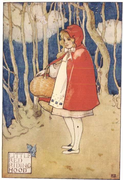 Little Red Riding Hood In Pictures Top Illustrations By