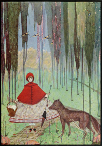harry clarke and red riding hood