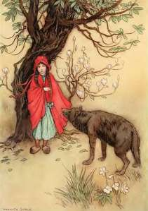 Red Riding Hood by Goble