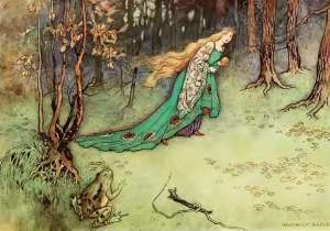 the frog prince fairy tale
