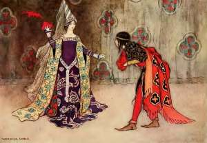 fairy tale about invisible prince