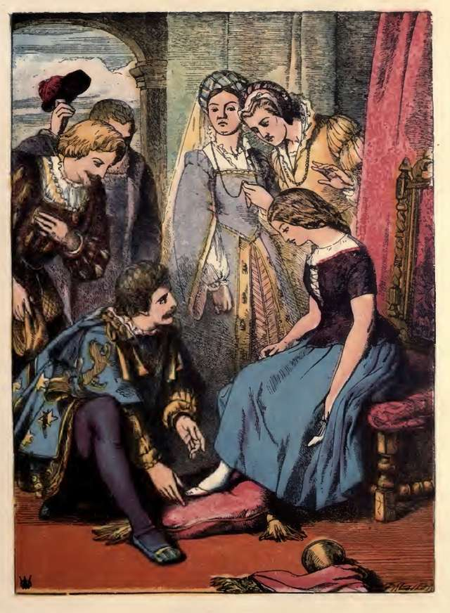 an analysis of perraults version of the story of cinderella Thus her name, cinderella or aschenputtel then,  the illustrations are stunning and the story follows perraults version very closely.