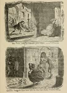 the glass slipper illustration george cruikshank