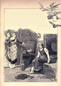 philip-grotjohann and robert leinweber illustration of cinderella