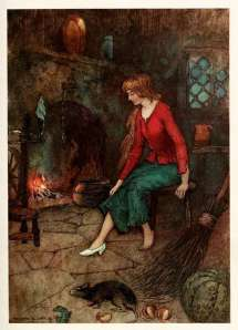 cinderella or little glass slipper picture by warwick goble