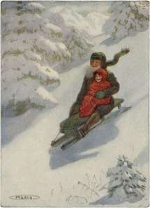 heidi-and-grandfather-enjoying-on-snow