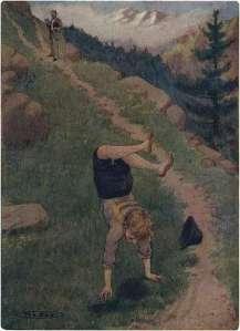 peter-making-somersaults
