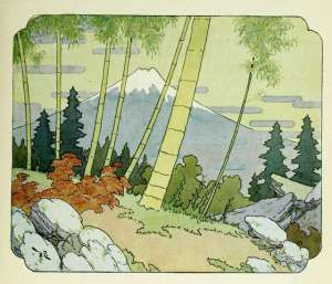 illustration of boastful bamboo tree