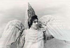 photo of nadezhda vrubel in the role of princess swan