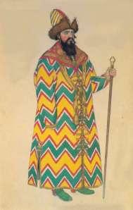prince guidon costume by ivan bilibin