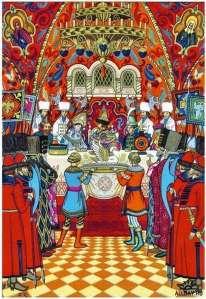 boris zvorykin pushkin tsar saltan illustration