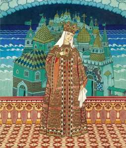 queen marfa in opera tale of tsar saltan