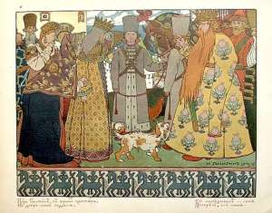 king saltan marries queen marfa