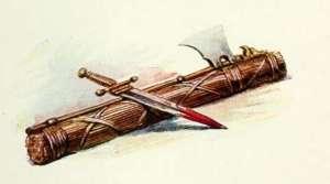 roman-armour-picture-vintage