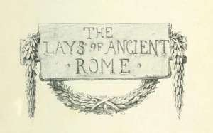 the-lays-of-ancient-rome-title