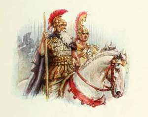 picture-of-roman-horsemen