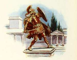 statue-of-roman-warrior