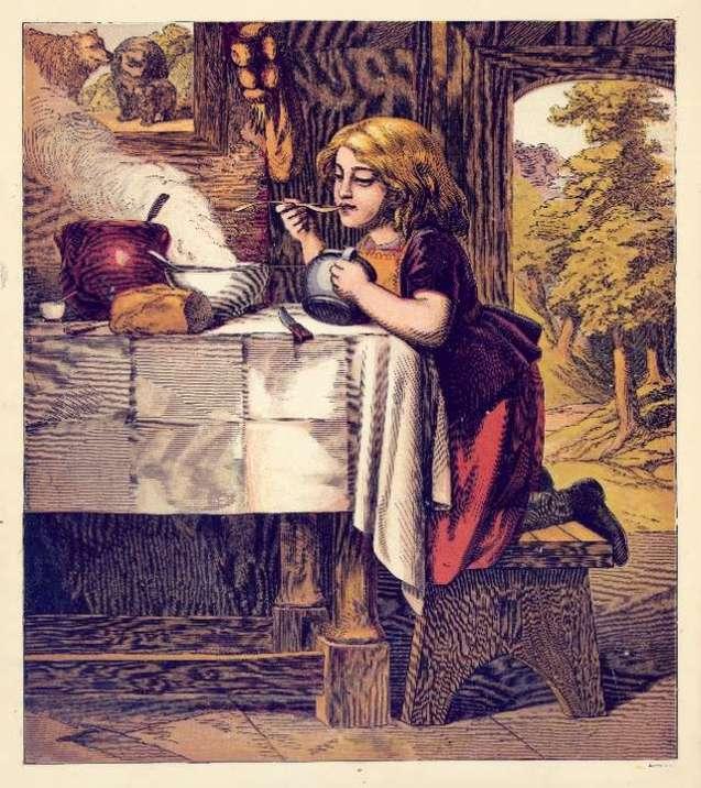 goldilocks-eating-the-porridge-harrison-weir