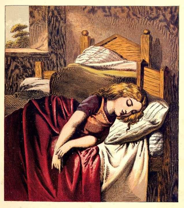 goldilocks-sleeping-harrison-weir