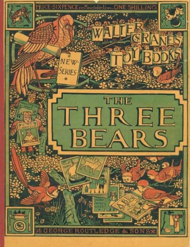 picture-book-three-bears-walter-crane-first-edition-cover